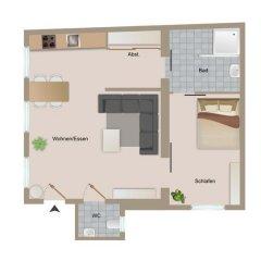 Апартаменты Vienna Prestige Apartments Graben Президентский люкс фото 34