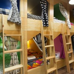 Хостел InDaHouse Кровать в общем номере фото 9