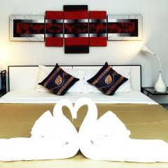 Phuket Paradiso Hotel 3* Стандартный семейный номер с двуспальной кроватью фото 21