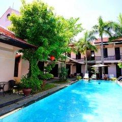 Отель Hoi An Garden Villas 3* Улучшенный номер с различными типами кроватей фото 3