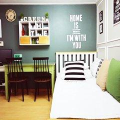 Отель Han River Guesthouse 2* Студия с различными типами кроватей фото 2