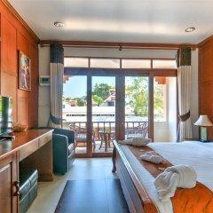 Отель Palm Beach Resort 3* Улучшенный номер с различными типами кроватей фото 5