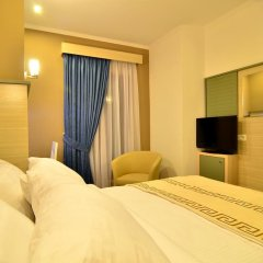 Capital Tirana Hotel 3* Стандартный номер с двуспальной кроватью фото 5