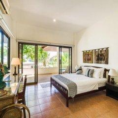 Отель 3 Bedroom Sea View Villa - Plai Laem (APS3) Таиланд, Самуи - отзывы, цены и фото номеров - забронировать отель 3 Bedroom Sea View Villa - Plai Laem (APS3) онлайн комната для гостей фото 2