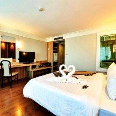 Jomtien Garden Hotel & Resort 4* Номер Делюкс с различными типами кроватей фото 9