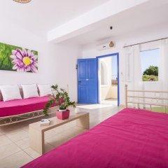 Отель Bella Santorini Studios 4* Стандартный номер с различными типами кроватей фото 4