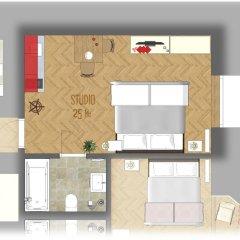 Отель EPIFANIE - apartments Чехия, Прага - отзывы, цены и фото номеров - забронировать отель EPIFANIE - apartments онлайн интерьер отеля