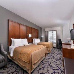 Отель Comfort Inn & Suites Frisco - Plano комната для гостей фото 4