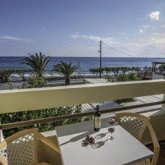 Tylissos Beach Hotel 4* Улучшенный номер с различными типами кроватей фото 3