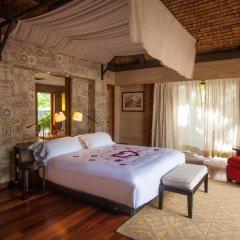 Отель The St Regis Bora Bora Resort 5* Вилла Reefside garden с различными типами кроватей фото 4