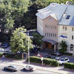 Hotel Maria Варшава парковка
