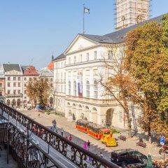 Апартаменты Львова балкон