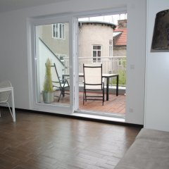 Апартаменты Kunsthaus Apartments Студия фото 6