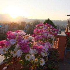 Отель Nepal Apartment Непал, Катманду - отзывы, цены и фото номеров - забронировать отель Nepal Apartment онлайн балкон