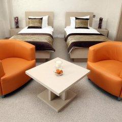 Euro Garni Hotel 4* Стандартный номер с различными типами кроватей фото 6