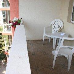 Отель Efos Bungalows Болгария, Св. Константин и Елена - отзывы, цены и фото номеров - забронировать отель Efos Bungalows онлайн балкон