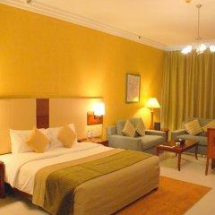 Star Metro Deira Hotel Apartments 4* Номер Делюкс с различными типами кроватей фото 4