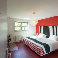Отель De Rode Haas 3* Номер Делюкс с различными типами кроватей фото 4