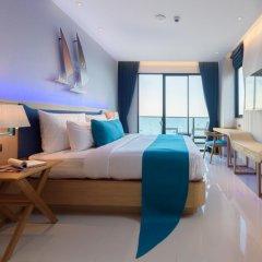 Отель Deep Blue Z10 Pattaya Стандартный номер с различными типами кроватей фото 11