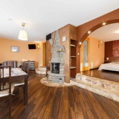 Отель Willa Wysoka Апартаменты с различными типами кроватей