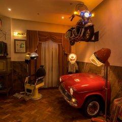 Отель Pão de Açúcar – Vintage Bumper Car Hotel Португалия, Порту - 1 отзыв об отеле, цены и фото номеров - забронировать отель Pão de Açúcar – Vintage Bumper Car Hotel онлайн фитнесс-зал фото 2