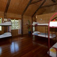 Отель Maravu Taveuni Lodge 2* Кровать в общем номере с двухъярусной кроватью фото 5