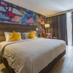 Отель Wyndham Garden Kuta Beach, Bali 4* Номер Делюкс с различными типами кроватей фото 2