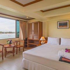 Krabi City Seaview Hotel 2* Номер Делюкс с различными типами кроватей фото 14