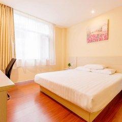 Отель Hanting Hotel Beijing Liufang Branch Китай, Пекин - отзывы, цены и фото номеров - забронировать отель Hanting Hotel Beijing Liufang Branch онлайн комната для гостей фото 3