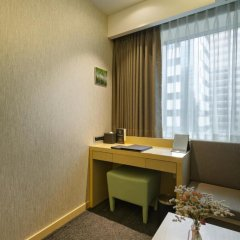 aFIRST Hotel Myeongdong 3* Стандартный семейный номер с двуспальной кроватью фото 4