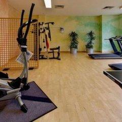 Отель Top Commundo Tagungshotel Ismaning Исманинг фитнесс-зал фото 4