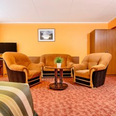 Hotel Zemaites 3* Номер Делюкс с различными типами кроватей фото 5