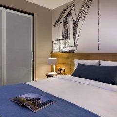 Отель Citadines Michel Hamburg 4* Студия с различными типами кроватей фото 2