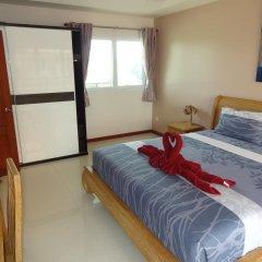 Апартаменты Rm Wiwat Apartment Люкс с различными типами кроватей фото 3