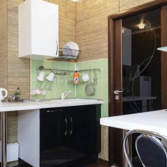Апартаменты Акрополь на Суворова 8 Апартаменты разные типы кроватей фото 3