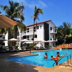 Отель Kyriad Prestige Calangute Goa Индия, Гоа - отзывы, цены и фото номеров - забронировать отель Kyriad Prestige Calangute Goa онлайн бассейн фото 3