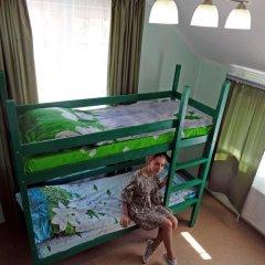 Хостел Мир Без Границ Кровать в общем номере с двухъярусной кроватью фото 28