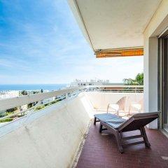 Отель La Vue Mer - 3 Chambres - Lanterne Франция, Ницца - отзывы, цены и фото номеров - забронировать отель La Vue Mer - 3 Chambres - Lanterne онлайн балкон