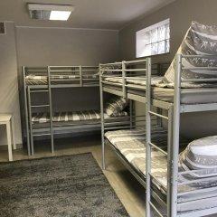 Отель Stacja Plaża Кровать в общем номере с двухъярусной кроватью