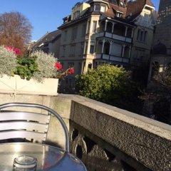 Отель Hottingen Швейцария, Цюрих - отзывы, цены и фото номеров - забронировать отель Hottingen онлайн балкон