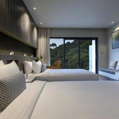 Hotel IKON Phuket 4* Улучшенный номер двуспальная кровать фото 5