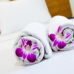 Отель Baan Paradise 2* Улучшенный номер с различными типами кроватей фото 4