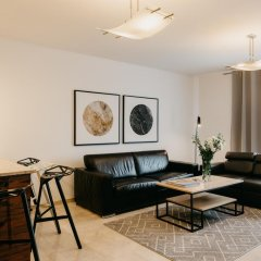 Отель EXCLUSIVE Aparthotel Улучшенные апартаменты с различными типами кроватей фото 17