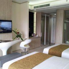 The Pattaya Discovery Beach Hotel Pattaya 4* Улучшенный номер с двуспальной кроватью фото 3