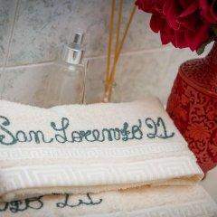 Отель Bilocale San Lorenzo 21 Генуя ванная