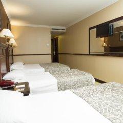 Topkapi Inter Istanbul Hotel 4* Стандартный семейный номер с двуспальной кроватью фото 14