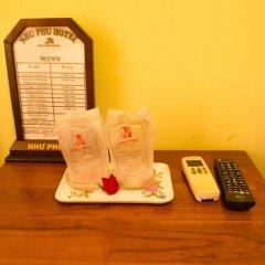 Nhu Phu Hotel 2* Стандартный номер с различными типами кроватей фото 7