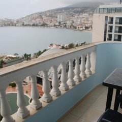 Отель Balcony of Saranda Албания, Саранда - отзывы, цены и фото номеров - забронировать отель Balcony of Saranda онлайн балкон