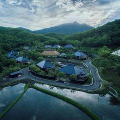 Отель Ryokan Miyama Sansou Минамиогуни бассейн фото 2