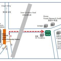 Отель Huga Haus Guest House Южная Корея, Сеул - отзывы, цены и фото номеров - забронировать отель Huga Haus Guest House онлайн городской автобус